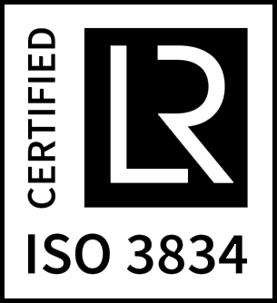 ISO 3834 certificate